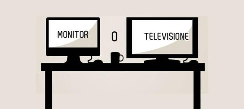 Monitor o TV per giocare?